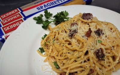 Pasta Recipe: Easy Spaghetti Carbonara with Bacon